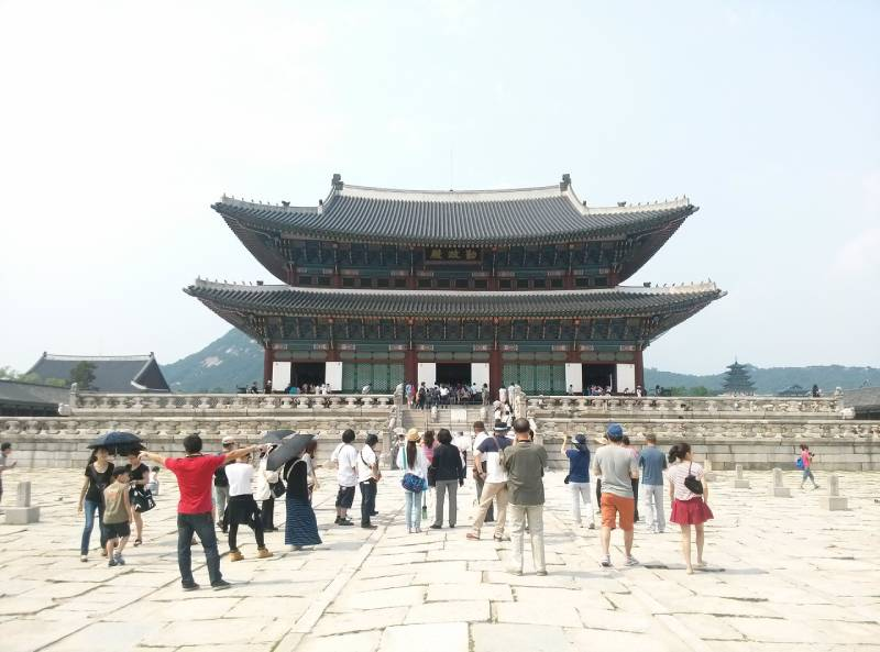 Gyeongbokgung Palace - South Korea Family Vacation