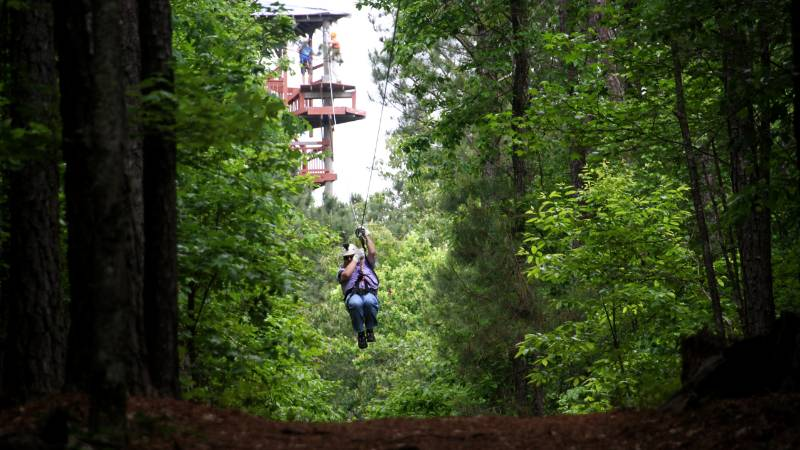 Historic Banning Mills Adventure Park - Playgrounds for Adults