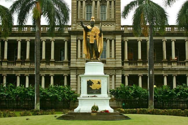 Kamehameha I Statue, Honolulu