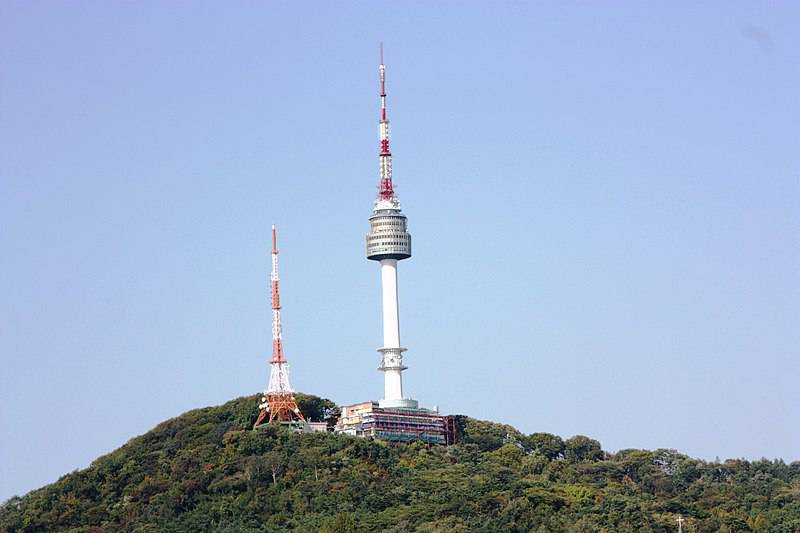 Namsan Tower - South Korea Family Vacation