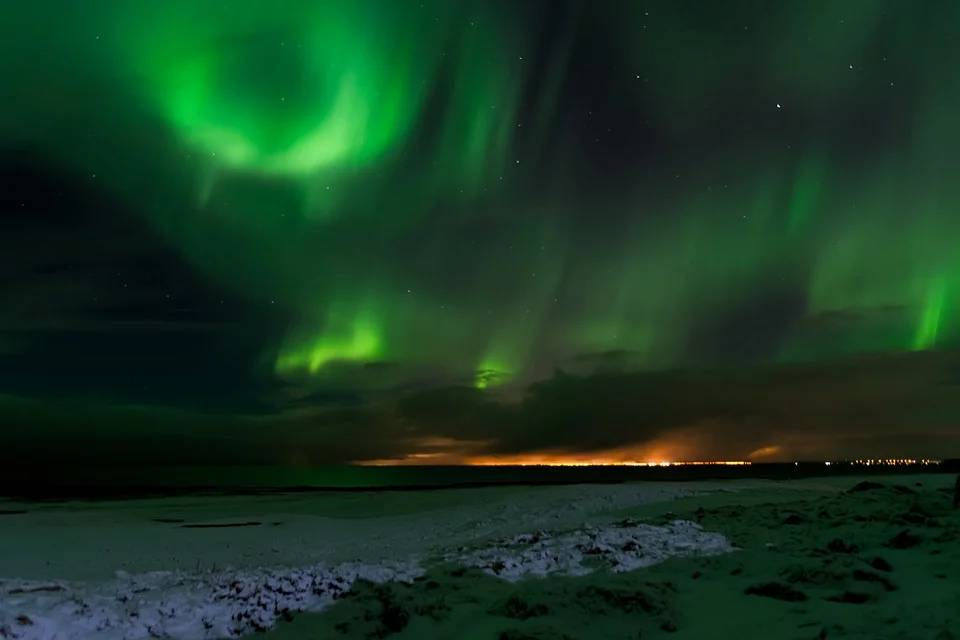 Northern Lights Iceland - Best European Cities to Travel with Kids