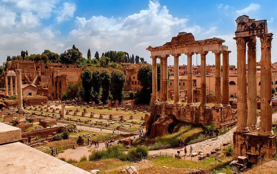 Roman Forum, Italy - Best European Cities to Travel with Kids