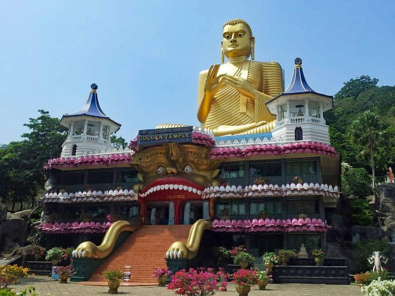 Royal Cave Temple at Dambulla - UNESCO Heritage Sites
