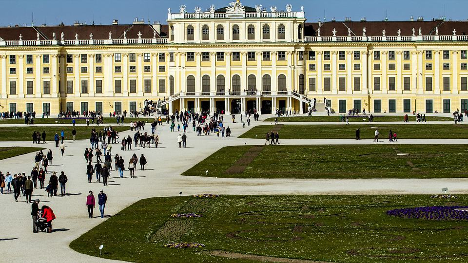Schönbrunn Palace, Vienna, Austria - Best European Cities to Travel with Kids