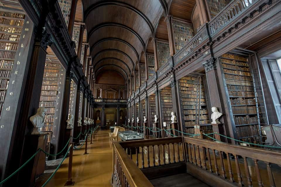 Trinity College, Dublin, Ireland - Best European Cities to Travel with Kids