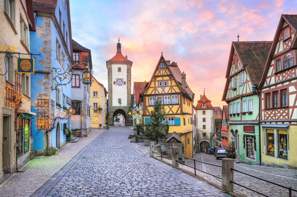Bavarian town - Budget Spring Break Destinations