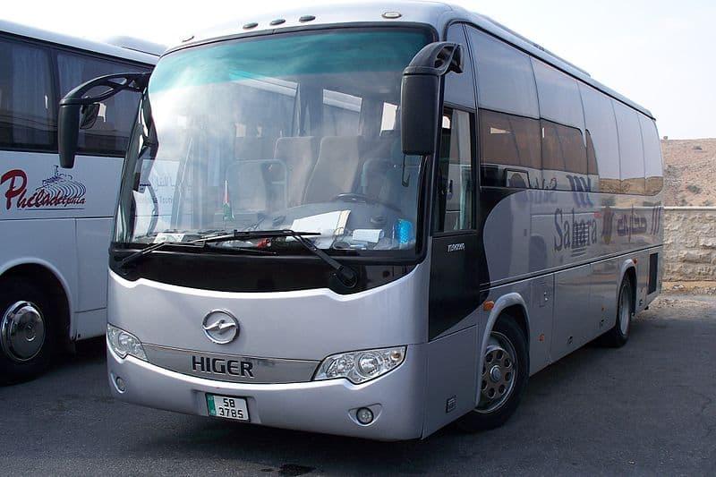 Bus in Jordan