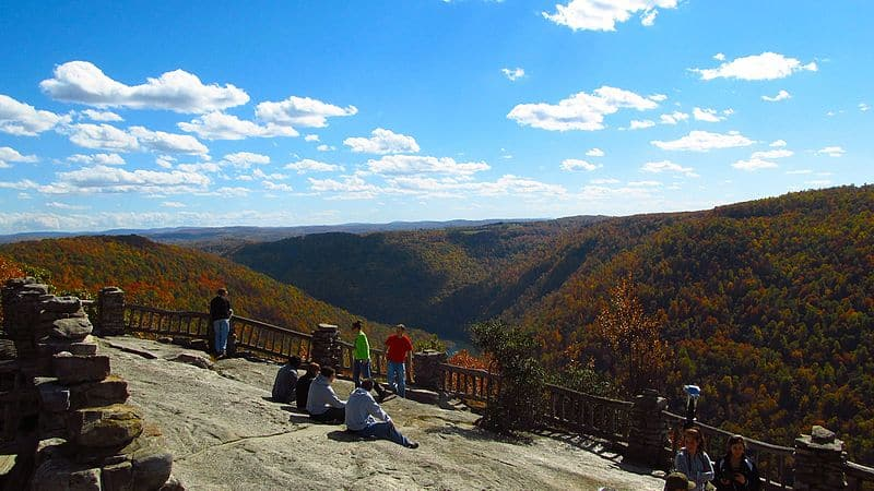 Coopers Rock - Budget Spring Break Destinations