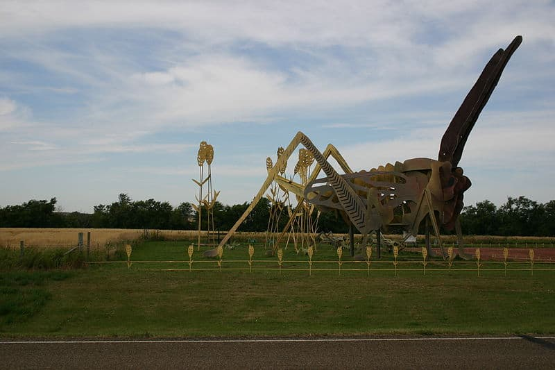 Enchanted Highway Sculptures - Budget Spring Break Destinations