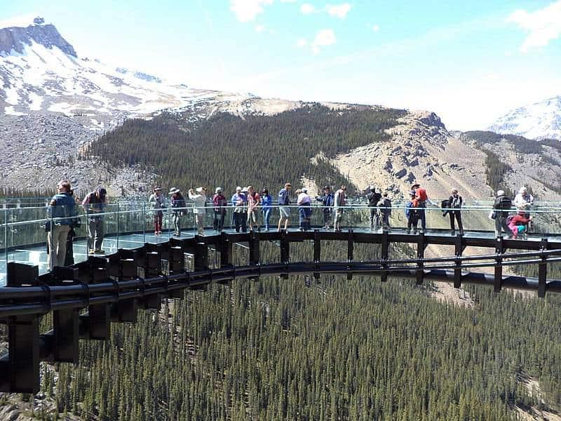 Glacier Sky Walk - Canadian Icefields Parkway