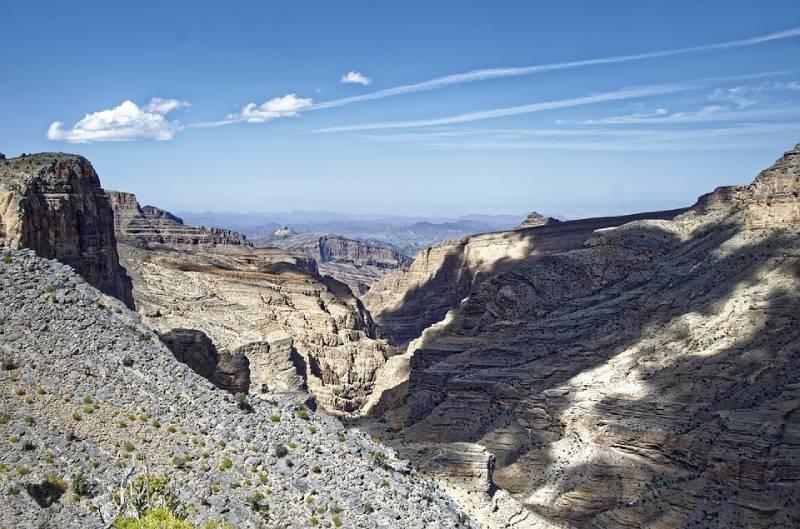 Gorge Canyon Oman