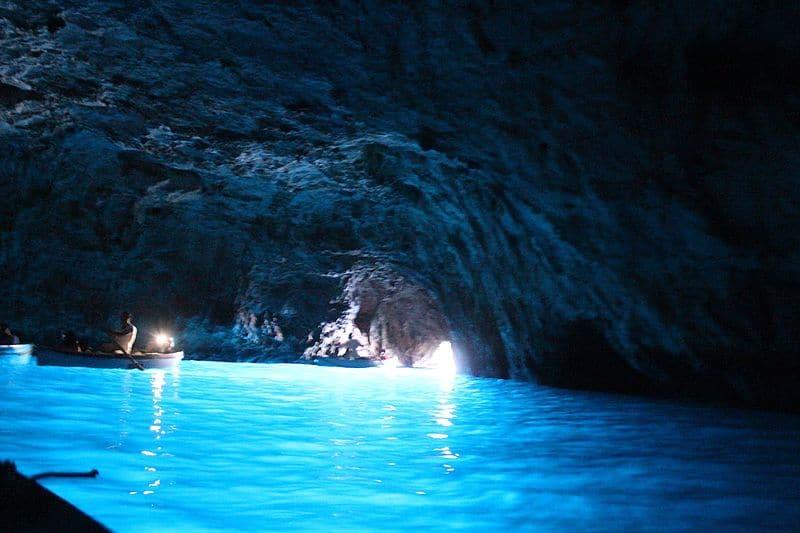 Grotta Dello Smeraldo Cave - Amalfi Coast Italy with Kids