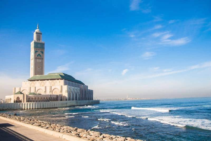Hassan II Mosque, Casablanca - Morocco with Kids