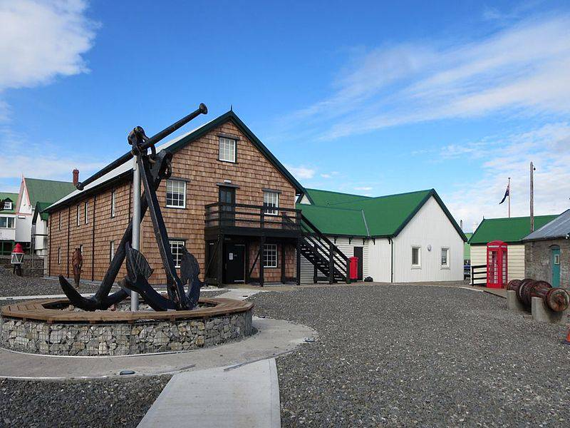 Historic Dockyard Museum - Falkland Islands with Kids