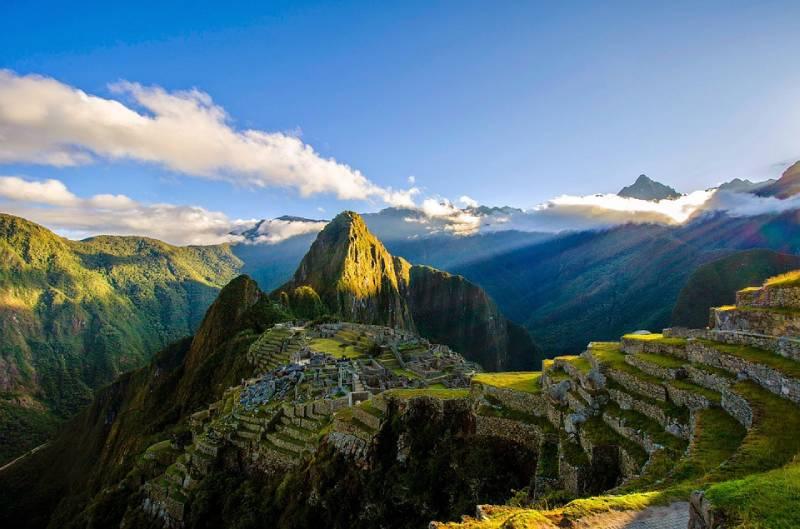 Machu Picchu from Lima Peru