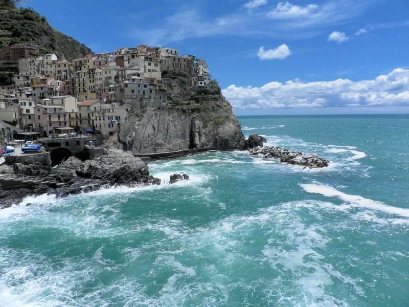Manarola - Cinque Terre Italy with Kids