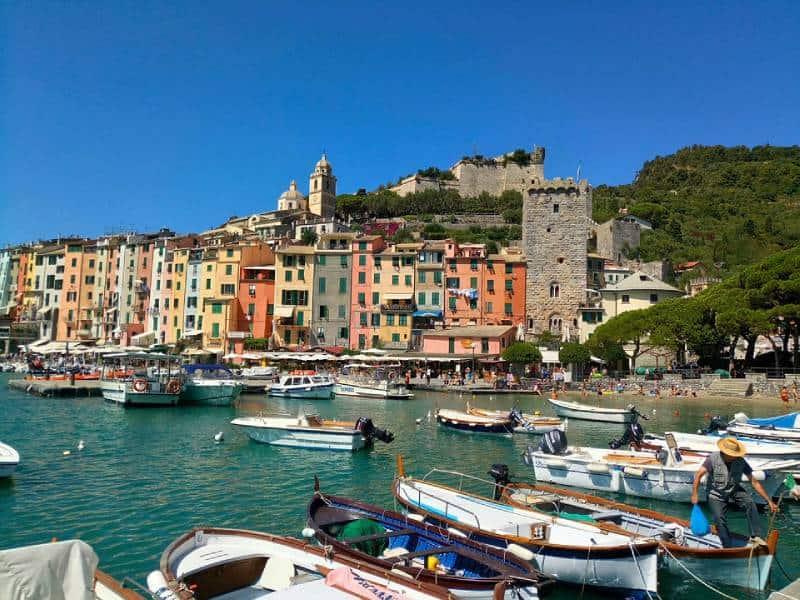 Portovenere - Cinque Terre Italy with Kids