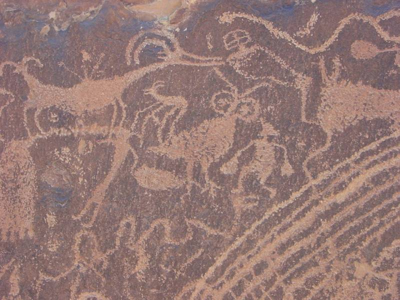 Rock Carvings - Saudi Arabia Vacation