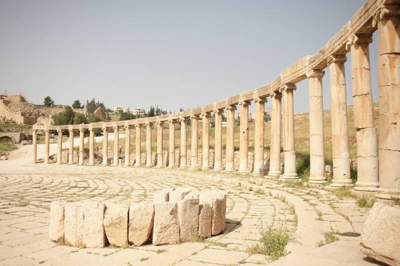 Roman Ruins of Jerash - Jordan With Kids