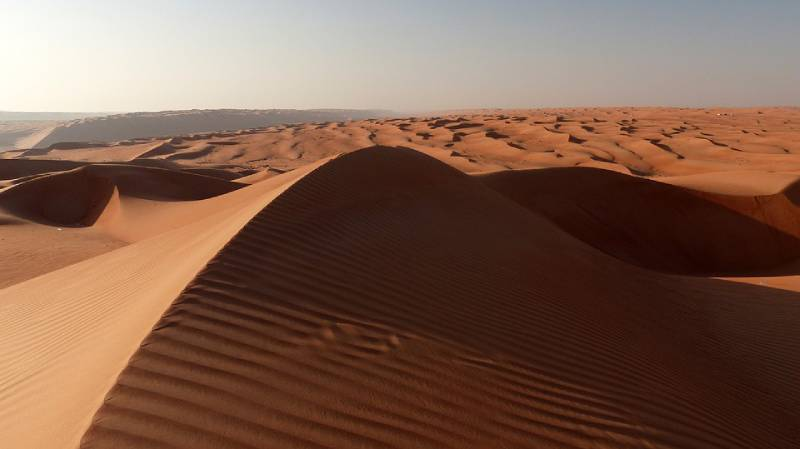 Sand dunes, Oman