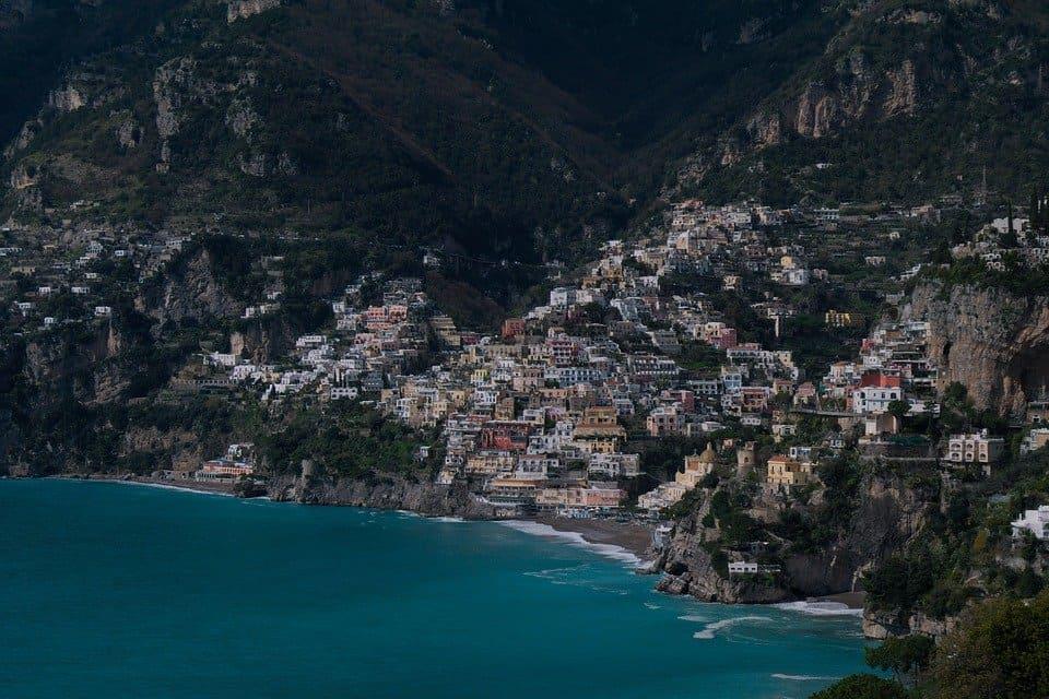 View from Praiano, Amalfi Coast