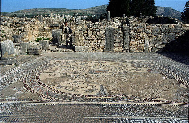 Volubilis - Morocco with Kids