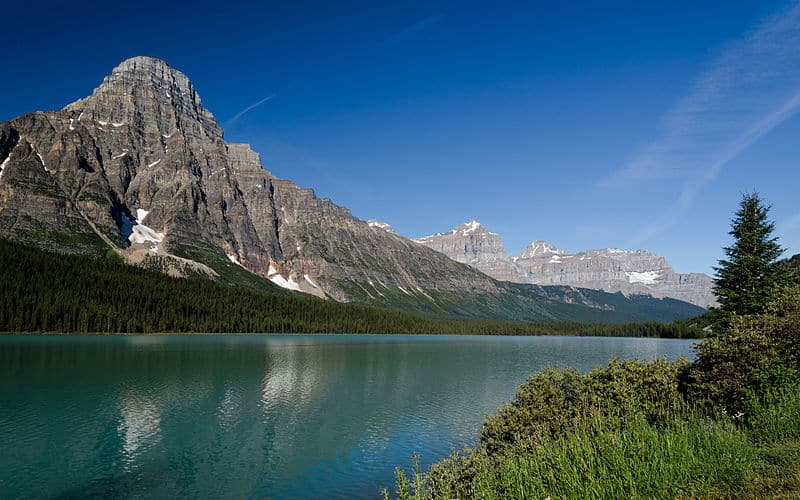 Waterfowl Lakes - Canadian Icefields Parkway