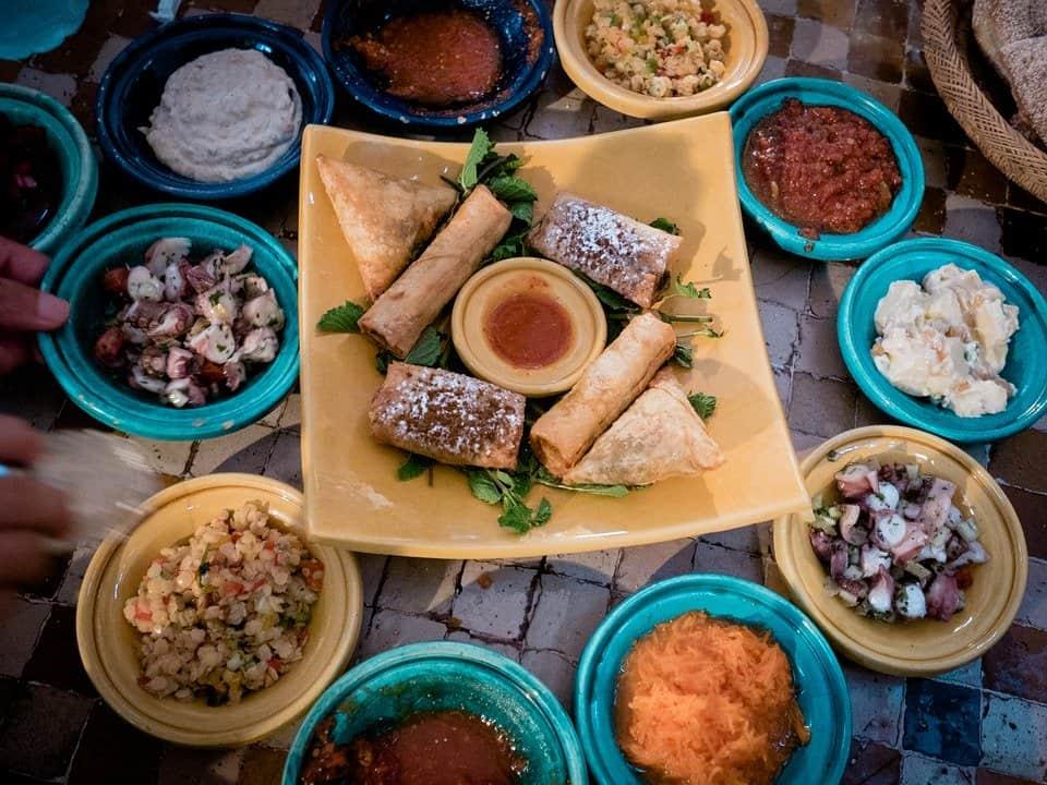 food, Marrakech, Morocco
