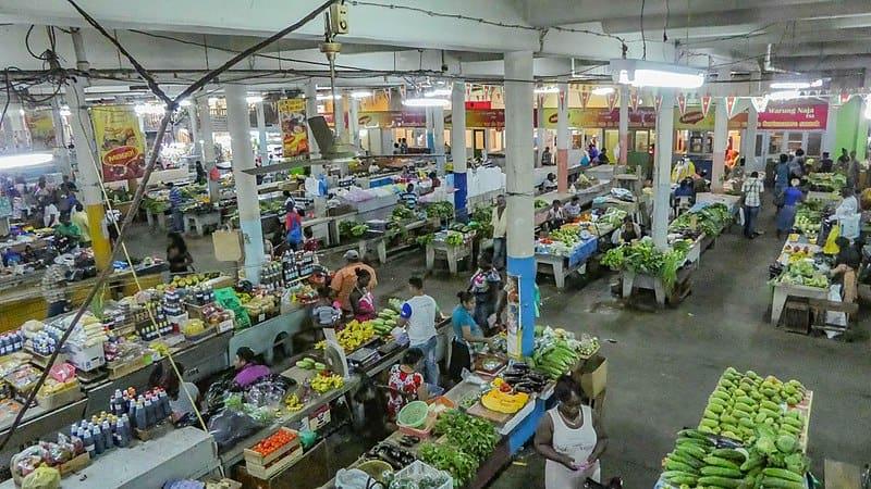 Paramaribo market