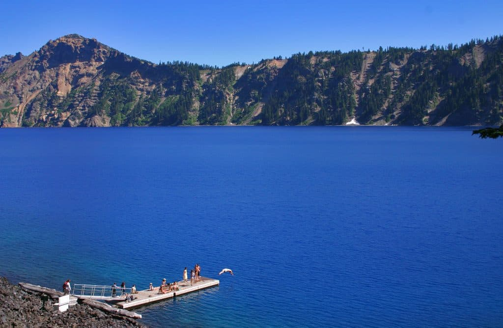Crater Lake Swimming Lake