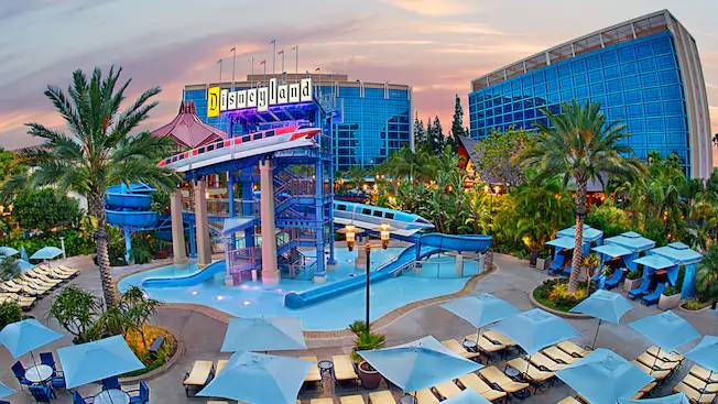 Disneyland Hotel, Hotels with indoor pools near me