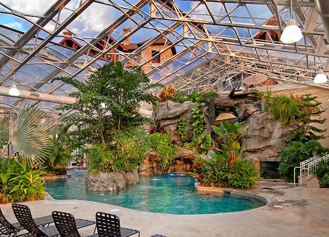 Grand Cascades Lodge, Hotels near me with indoor pools