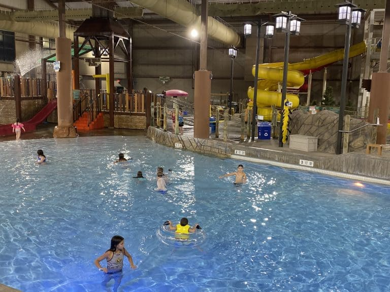 Hope Lake Lodge Indoor Waterpark & Conference Center, Indoor heated swimming pool near me
