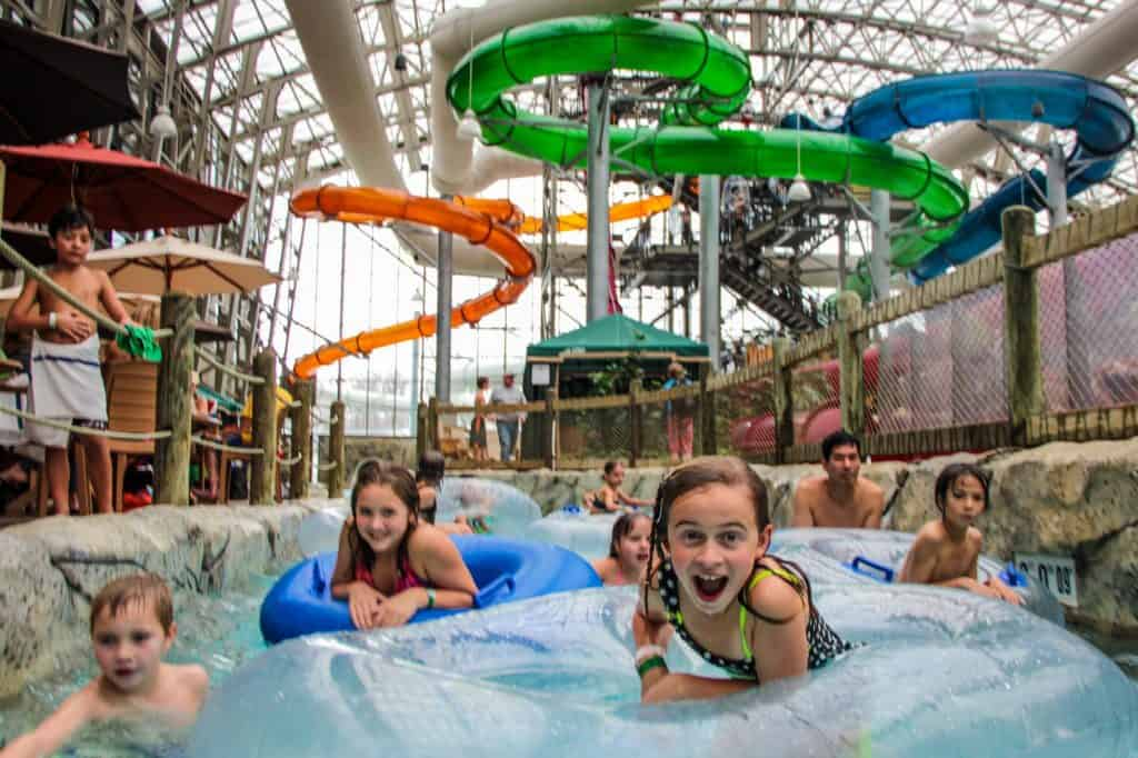 Jay Peak Resort, Hotels with heated swimming pools