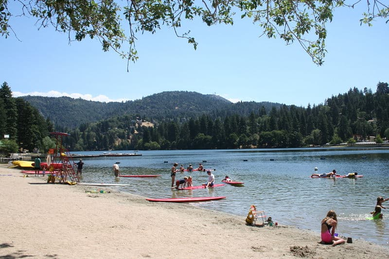 Lake Gregory, Best Swimming Lakes in the USA
