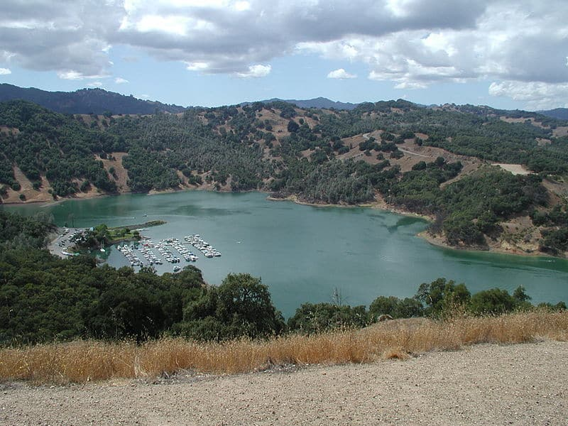 Lake Sonoma Swimming Lake