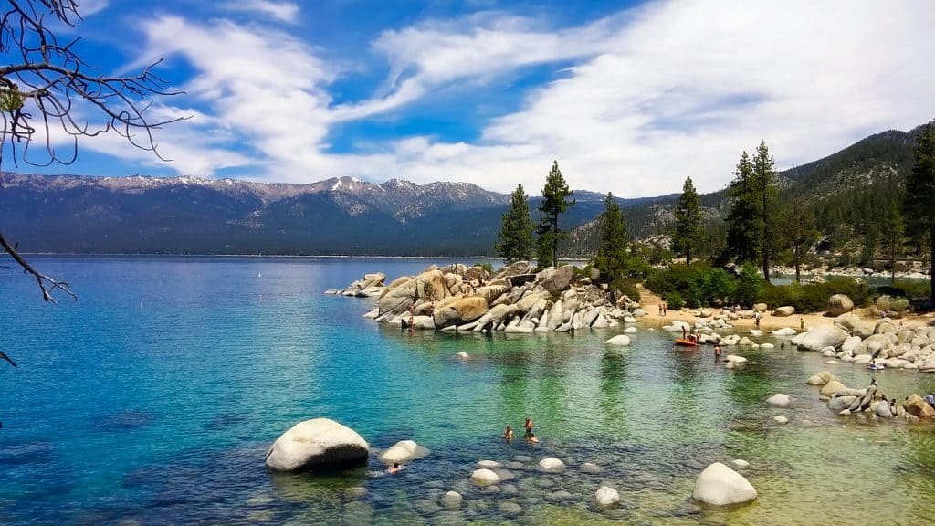 Lake Tahoe Swimming Lake