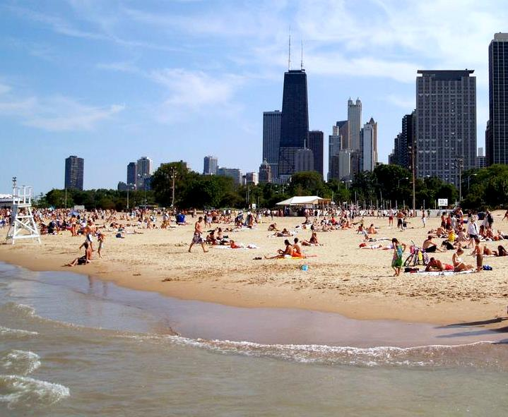 North Avenue Beach, Illinois
