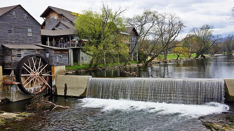 Old mill, Pigeon Forge, Pigeon Forge