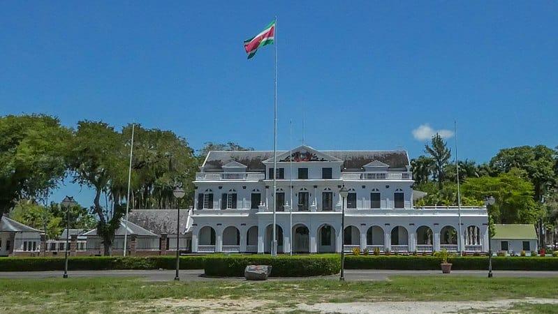 Presidential Palace, Suriname