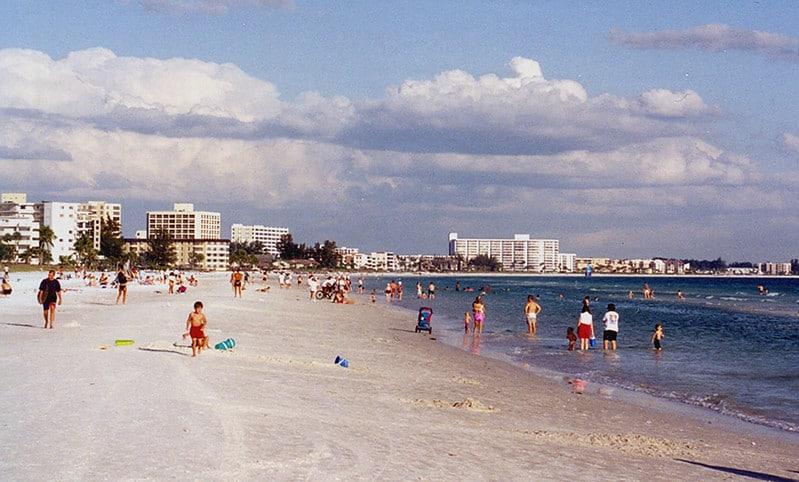 Siesta Beach - Best Beaches Near Orlando Florida