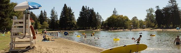 Spring Lake Swimming Lake