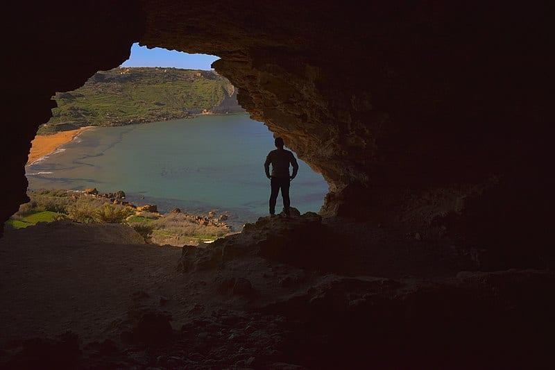 Tal Mixta Cave, Gozo(Malta)