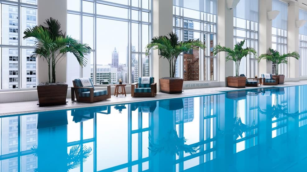 The-Peninsula-Spa-Pool, Hotels with heated indoor pools near me