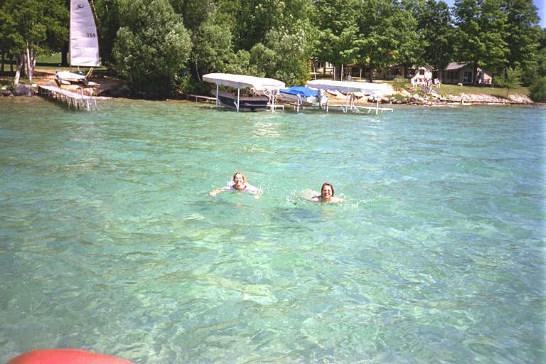 Torch Lake, Best Swimming Lakes