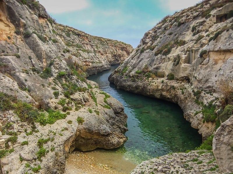 Wied Il Ghasr, Gozo(Malta)