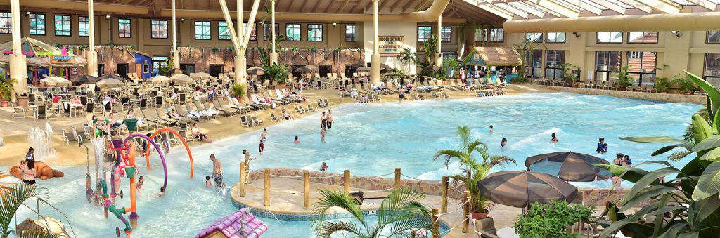 Wilderness Resort, Pools open near me