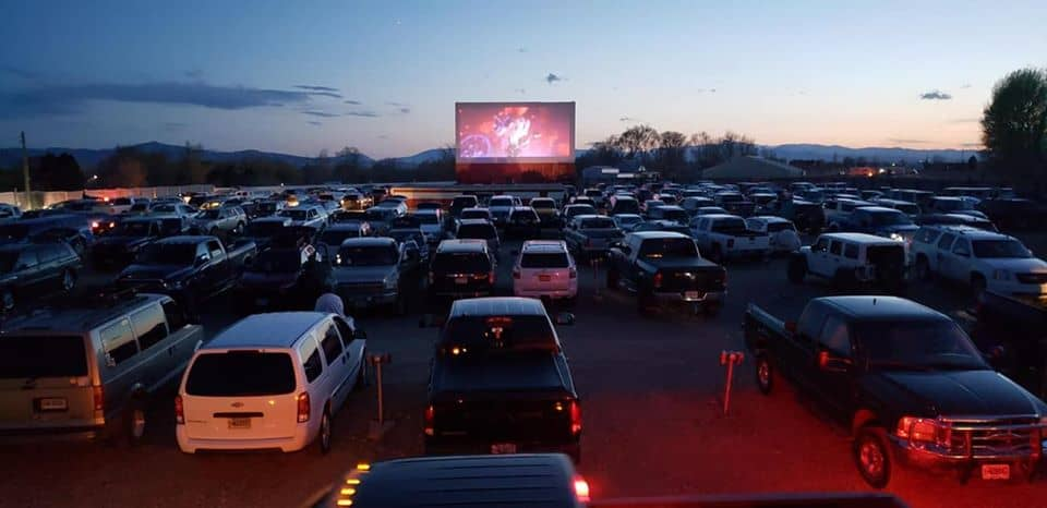 American Dream Drive-in Movie Theater in the USA