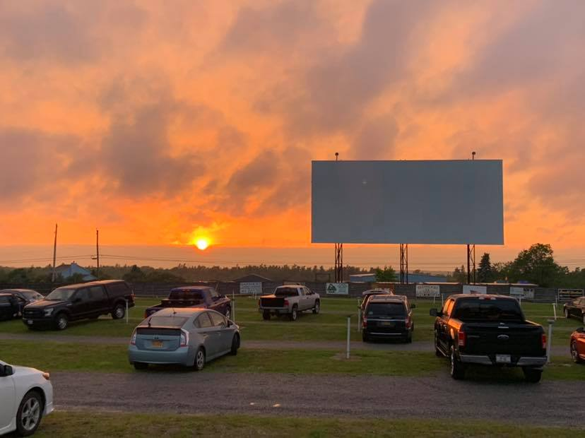 Bay Drive-in Movie Theater in the USA