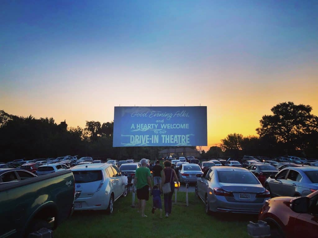 Bengies Drive-in Movie Theater in the USA
